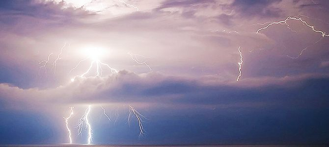 tormentas de verano