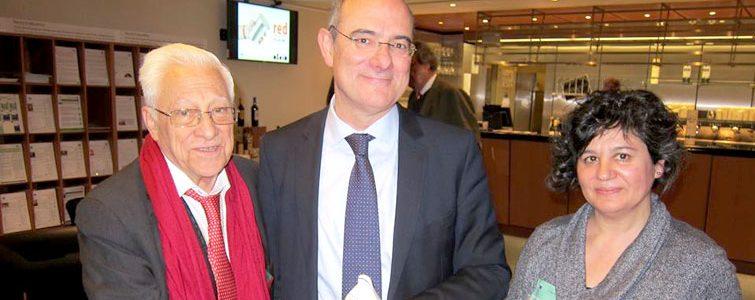 Padre Angel en el Parlamento Europeo