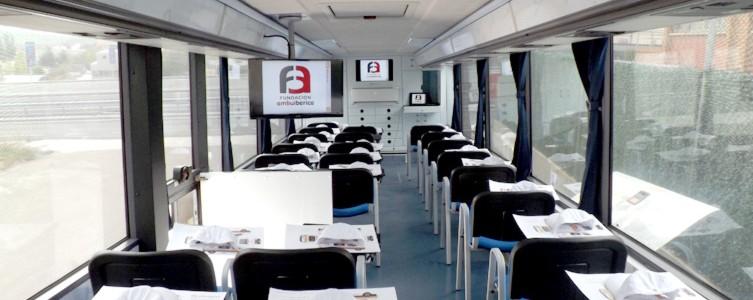 Autobús - aula en Ciudad Real