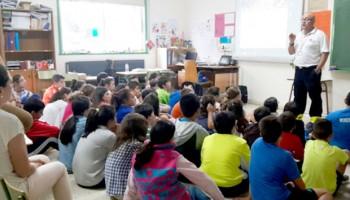 Ambuibérica y Protección Civil enseñan Primeros Auxilios a más de 400 niños en Cee