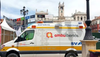 Ambuibérica cubre el Padel Tour de Valladolid