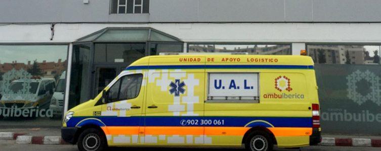 Ambulancia apoyo logistco
